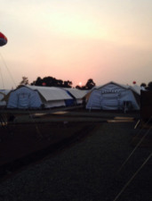 tents in Sierra Leone